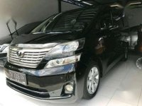 Toyota Vellfire ZG AT Tahun 2010 Automatic