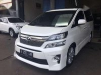 Toyota Vellfire ZG AT Tahun 2014 Automatic