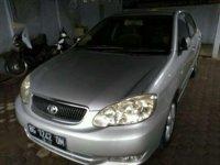 Jual Toyota Altis G bensin 2002