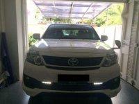 Dijual Toyota Fortuner TRD G Luxury 2015