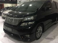 Toyota Vellfire Z AT Tahun 2011 Automatic