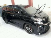 Jual Mobil Toyota Vellfire G Limited 2013