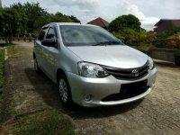 Toyota Etios JX 2014 Silver