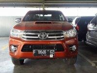 Jual Mobil Toyota Hilux E 2018