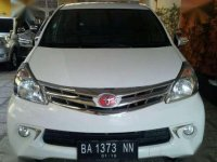 Avanza G 2013/2014 manual (double airbag)