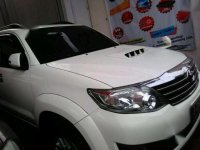 Jual Toyota Fortuner G Luxury 2014