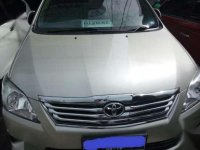 Toyota Innova V Luxury 2013