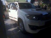 Dijual Mobil Toyota Fortuner G SUV Tahun 2013