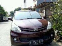 Toyota Avanza E 1.3 2012