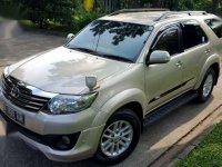 Jual Toyota Fortuner TRD G Luxury 2012