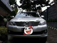Toyota Fortuner G Lux Matic AT Bensin 2012/2013 Milik Sendiri Mulus Pisan