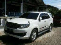 Toyota Fortuner Th 2012 Solar Metic TRD Sportivo BE Kodya KM Rendah