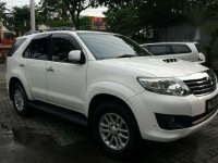 Toyota Fortuner G VNT  Tahun 2013