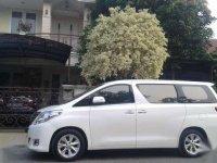 Toyota Alphard Tahun 2012 Type G