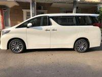 Jual Toyota Alphard 2.5G A/T Tahun 2015