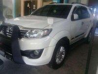 Jual Toyota Fortuner G TRD AT diesel 2012