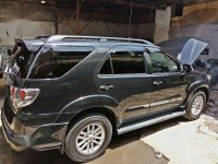 Toyota Fortuner 2.5 TRD 2012 Automatic Diesel/Solar