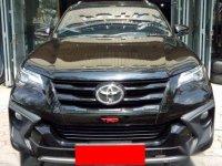 Toyota Fortuner VRZ TRD Automatic 2017 Black Top Kondisi