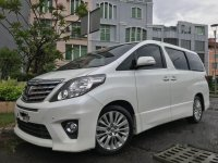 Toyota Alphard G G 2013 MPV AT