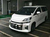 Toyota Vellfire GS Sport 2013 / 2014 Pakai Sendiri (Bandung), Low Km