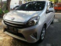 Toyota Agya G 2013 Silver