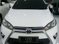 Toyota Yaris G. 2014. Putih