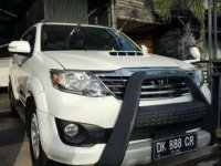 Toyota Fortuner TRD MT Tahun 2013 Manual