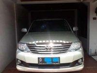 Toyota Fortuner Bensin G Luxury AT 2012