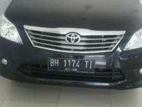 Toyota Kijang Innova V MT Tahun 2012 Manual