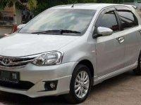 Jual cepat Toyota Etios G Manual 2014 Akhir BE Kodya