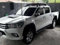 Toyota Hilux Type G Manual 2016