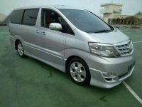 For Sale Toyota Alphard AT Silver Tahun 2007 ASG