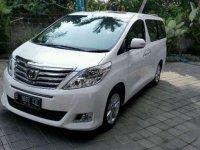 Dijual Mobil Toyota Alphard G MPV Tahun 2012