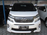 Toyota Vellfire Zg Audioless 2011