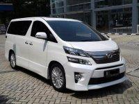 2013 Toyota Vellfire ZG Audioless