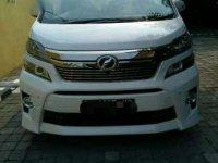 Jual Toyota Vellfire Z 2012