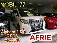 Toyota Alphard 2.5 G ATPM 2016