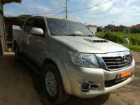 Toyota Hilux G 2.5 Manual 4x4 Double Cabin 2011