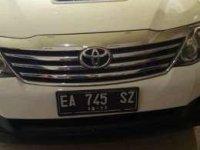 Di jual Toyota Fortuner G 2012