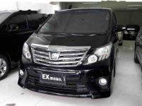 Jual Toyota Alphard G G 2012
