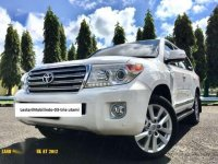 Toyota LandCruiser UK  2012