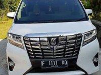 Jual cepat  Toyota Alphard G 2.5 2017