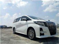 Jual mobil Toyota Alphard G 2017 Wagon
