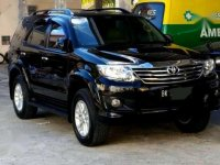 Jual Mobil Toyota Fortuner G Luxury 2013