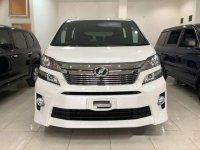 Toyota Vellfire ZG Premium Sound Minim Pemakaian 2012