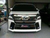 Jual Mobil Toyota Vellfire ZG 2015