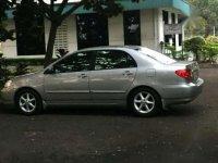 Toyota Altis Manual 2003