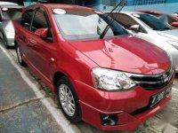 Toyota Etios G 1.2 Tahun 2015 Merah