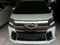 Toyota Vellfire ZG AT Tahun 2015 Automatic