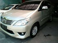 Toyota Grand innova Bensin Manual Thn 2012